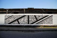 {/~//~/}  Street Art by Simek. Greece.
