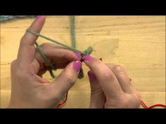 How to Use a Knook -- Knook Scarf Pattern. Watch now: http://www.youtube.com/watch?v=g4UDLnLpAuE&list=PLV7i0FGwmpbcnpuZxOGRM5sm-uQ9C4Zn1&index=11