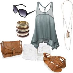 Polyvore Summer Outfits With Shorts | ... interested me and what better time than summer to try out that style