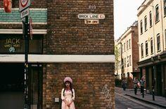 Melanie Martinez on Brick Lane, London