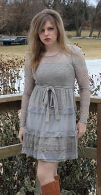 Sweetheart Sweater Dress - in another color