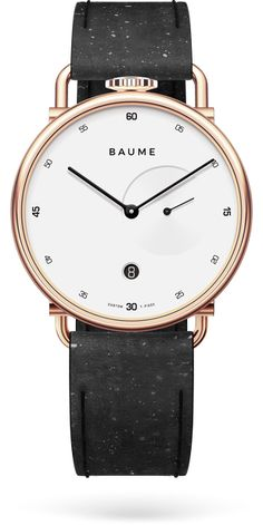 Discover Baume Watches : a unique experience to design your own custom watch. We create eco-friendly watches with minimalist design paired with quality. All Black Watches, Watches For Men Unique, Most Popular Watches, Fine Watches, Men's Watches, Amazing Watches, Cool Watches, Wrist Watches, Ronda