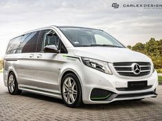 Carlex Will Make Your Mercedes Vito Look Fast & Furious The post Carlex Will Make Your Mercedes Vito Look Fast & Furious appeared first on mercedes. Mercedes Benz Viano, Mercedes Benz Suv, Custom Mercedes, New Mercedes, Mini Vans, Luxury Van, Monospace, Mercedez Benz, Cadillac