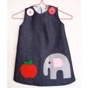 omkeerbaar jurkje olifant