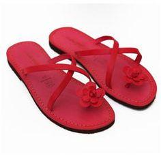 933d5f9148c5b1 Sandalo ostuni rosso da donna