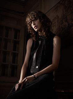 Lorelle Rayner stars in Harper's Bazaar Magazine Netherlands January 2016