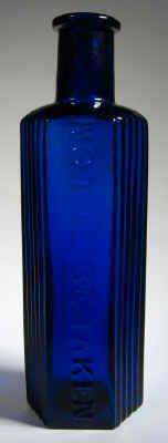 Colbalt Blue Antique Poison Bottle, for a little less time!