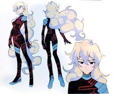 Character Sheet, Character Concept, Character Art, Concept Art, Female Character Design, Character Design Inspiration, Nia Gurren Lagann, Gurren Laggan, Hero Costumes