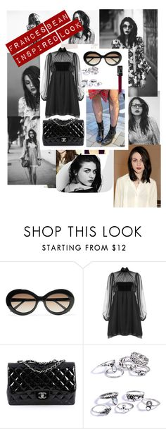 """Frances Bean inspired look"" by rachaelmccabe on Polyvore featuring Marc Jacobs, Hedi Slimane, Sunday Somewhere, Emilio Pucci, Chanel and NARS Cosmetics"