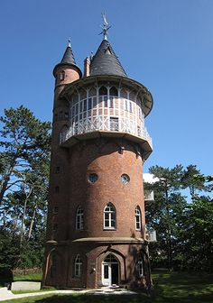 Wasserturm Waren, renovated old water tower with 4 holiday apartments, Waren, Germany