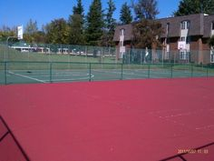 We've got a huge sports court and basketball court at The Pines at Cold Harbor for all of your outdoor fun!