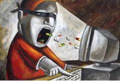 SUL WEB CI SI DROGA CON ONDE SONORE - Dipendenze
