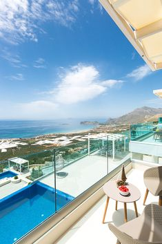 Villa Daphne, with private infinity pool and amazing sea views and sunset view, only 3 km from the famous sandy beach of Falassarna! #crete #greece #chania #summer #vacations #holiday #travel #sea #sun #sand #nature #landscape #island #TheHotelgr #nature #view #holidays #travelling #instatravel #pool #pinterest #villa #urlaub #ferien #reisen #meerblick #aussicht #sommer #thehotelgr