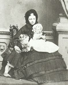 Victoria with Wilhelm and Charlotte.