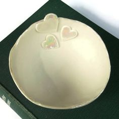 Ceramic Heart Bowl Great Wedding Gift of Home by melissaceramics