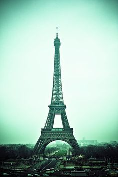 Eiffel Tower Photograph  - Fabien Astre