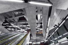 Galeria - Estações de Metrô, linha M4 / sporaarchitects - 10
