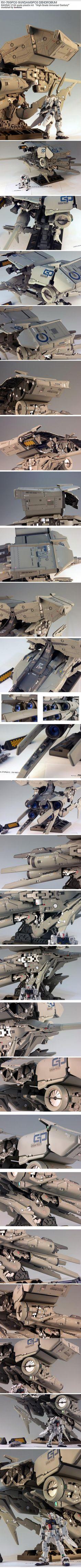 RX-78GP03 Gundam GP03 Dendrobium
