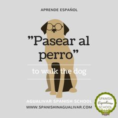 Vocabulario en español. Agualivar Spanish School. www.spanishinagualivar.com