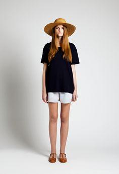 Sun Hat, Ron T-shirt and Pigeon Shorts | Samuji SS14 Classic Collection