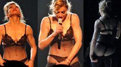 Madonna makes striptease in support Malala Yousafzai