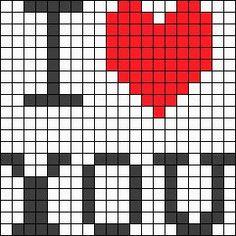 19 Ideas Crochet Heart Bracelet Cross Stitch For 2019 Crochet Pixel, Graph Crochet, Crochet Stitches Patterns, Beading Patterns, Cross Stitch Love, Cross Stitch Designs, Cross Stitch Patterns, Perler Bead Emoji, Perler Beads