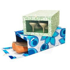 Peek-a-Box Shoe Storage container