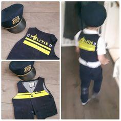 ons zoontje is gek van de politie, dus heb ik deze gemaakt!