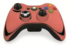 Custom Xbox 360 Controller  Wireless Glossy Half-Emerald Green-And-Half-Brown Beige- Without Mods