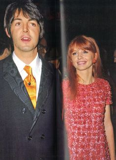 October 18th, 1967 - Paul McCartney and Jane Asher at the premiere of How I Won the War.