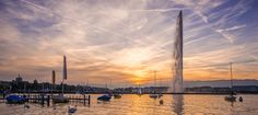 Golden Geneva by Laurent Egli on Geneva, Cn Tower, Building, Pictures, Travel, Photos, Viajes, Buildings, Photo Illustration