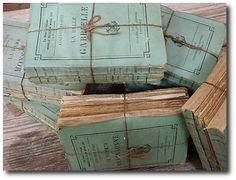 French Paper Back Books From English Country Antiques In NY