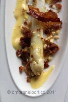 Asparago, nocciole, pancetta croccante              #recipe #juliesoissons
