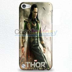 Loki Tom Hiddleston Collage iPod Touch 5 Case | casefantasy