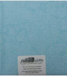 Fabric-Palette Cotton Fabric-Pre-Cut 1/4yd-Blues