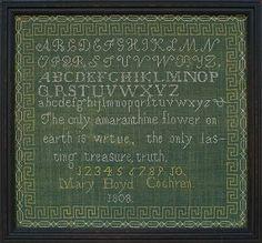 Mary Boyd Cochran, New Boston, New Hampshire, 1808
