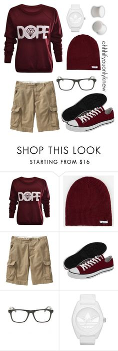 """""""Untitled #75"""" by ohhhifyouonlyknew ❤ liked on Polyvore featuring Neff, Old Navy, Converse, Dita, adidas Originals, Hot Topic, comfy, dope, my creations and casual"""