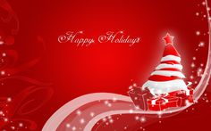 christmas happy holiday wallpaper