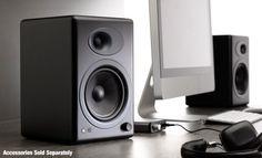 Audioengine A5+ Premium Powered Speaker Pair (Black) - http://www.rekomande.com/audioengine-a5-premium-powered-speaker-pair-black-2/