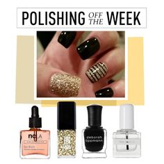 """Polishing Off the Week"" by polyvore-editorial ❤ liked on Polyvore featuring beauty, JINsoon, Deborah Lippmann, tenoverten, ncLA, nailpolish, polishingofftheweek and newnownails"