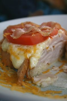 Hot Brown Sandwich- this looks like one of the best sandwich recipes I've ever seen and it's Guy Fieri approved so I'm certainly anxious to try it!! I think I could just eat that Mornay sauce with a spoon :)
