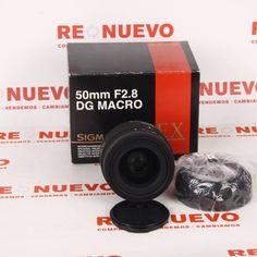 #Objetivo #SIGMA #50mm #F2.8 Macro para #Nikon E270874 de segunda mano   Tienda online de segunda mano en Barcelona Re-Nuevo #segundamano