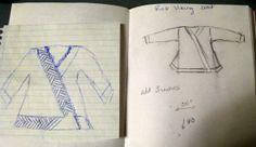 coat sketch