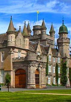 Balmoral Castle, Scotland, UK What do you think of this castle?? The princess always gets to choose
