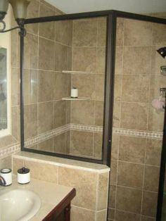 Since one of our bathrooms has such a small shower, thinking about remodeling!