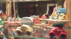 Christmas Scene, Used Car Lot, McDonalds; Homage to Preston Slaughter, Christmas, 2014.