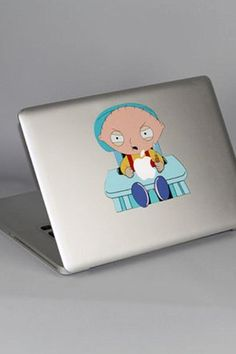 Yamamoto Industries Macbook HD Decal-Stewie