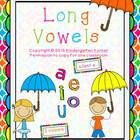 This unit has everything you need for your literacy centers to practice and review long vowels. Included in this unit are activities to practice th...