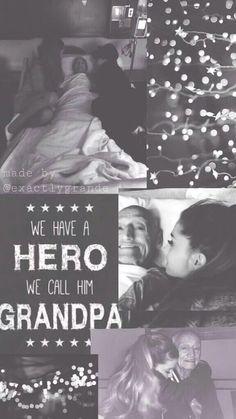 ✨ Wallpaper Grandpa Ariana Grande ✨