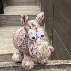 Amigurumi Pattern - Rudolf the Reindeer XL - English Version The Animals, Crochet Amigurumi, Crochet Toys, Amigurumi Patterns, Half Double Crochet, Single Crochet, Lady Bug, Christmas Crochet Patterns, Catania